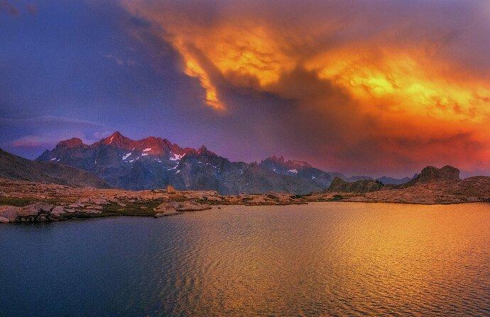 Blue-Lake-Sunset
